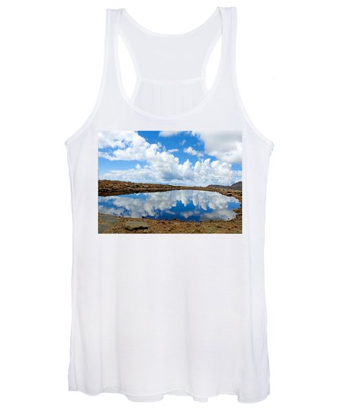 Lake Of The Sky Women's Tank Top