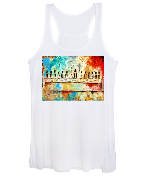 Last Supper Iv Women's Tank Top