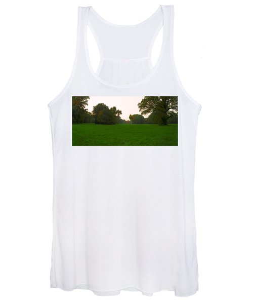 Late Afternoon In The Park Women's Tank Top