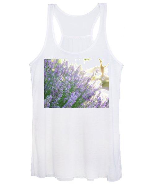 Lavender At Dawn Women's Tank Top