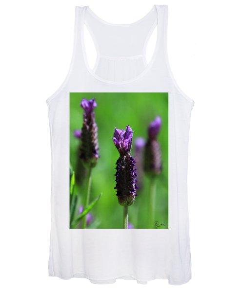 Lavender Spike Women's Tank Top