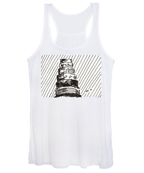 Layer Cake 1 2015 - Aceo Women's Tank Top