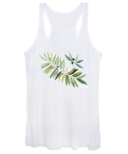 Leaves And Berries Women's Tank Top