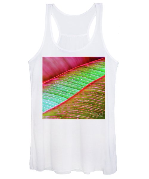 Leaves In Color  Women's Tank Top