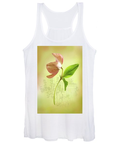 Lenton Rose 1 Women's Tank Top