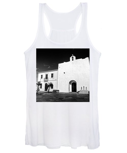 Fortified Church, Formentera Women's Tank Top