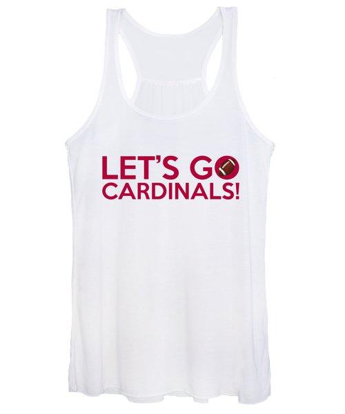 Let's Go Cardinals Women's Tank Top
