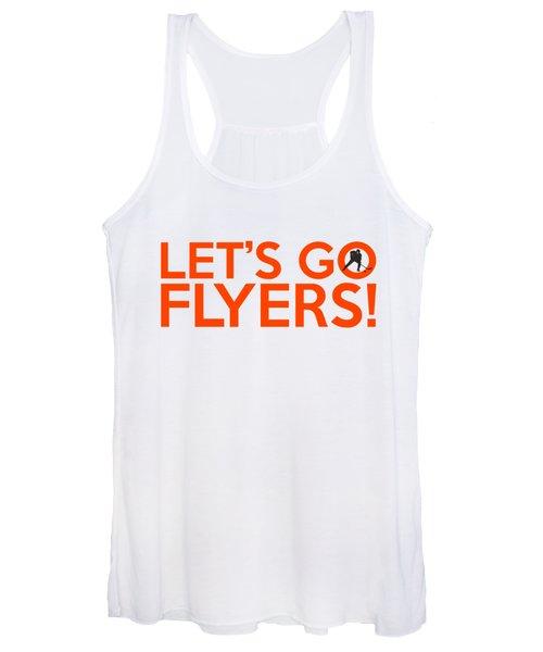 Let's Go Flyers Women's Tank Top
