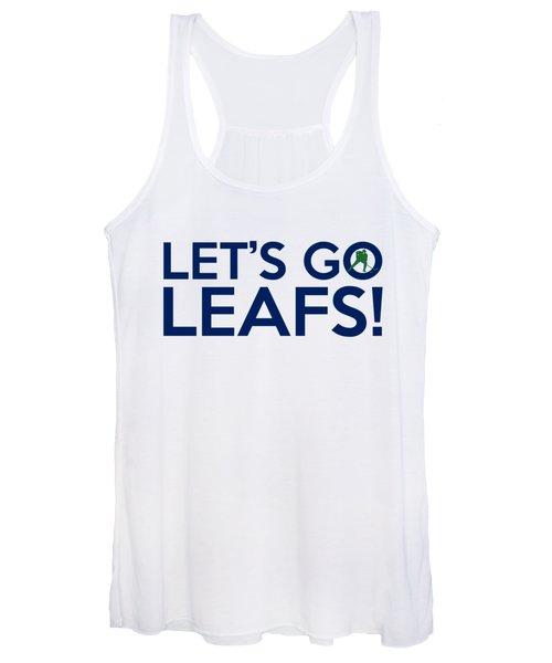 Let's Go Leafs Women's Tank Top