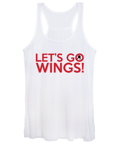 Let's Go Wings Women's Tank Top