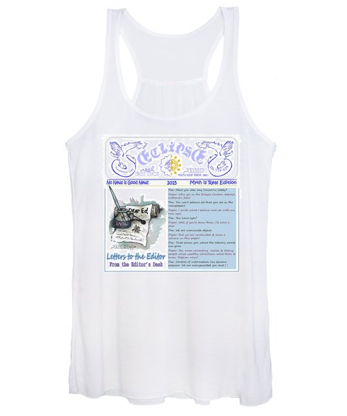 Real Fake News Letters To The Editor Women's Tank Top
