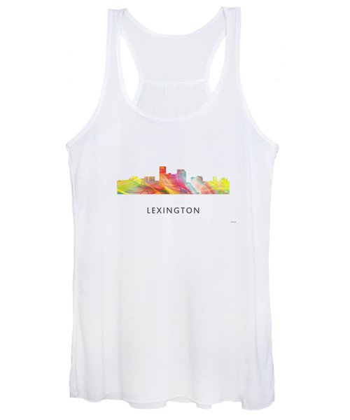 Lexington Kentucky Skyline Women's Tank Top
