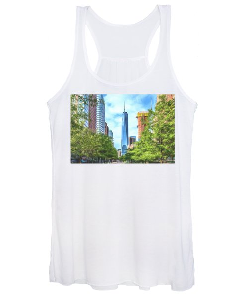 Liberty Tower Women's Tank Top