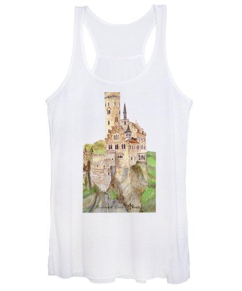 Lichtenstein Castle Women's Tank Top