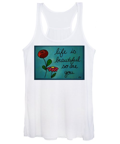 Life Is Beautiful Women's Tank Top