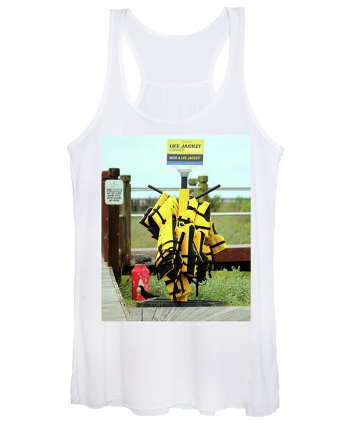 Life Jacket Station Women's Tank Top
