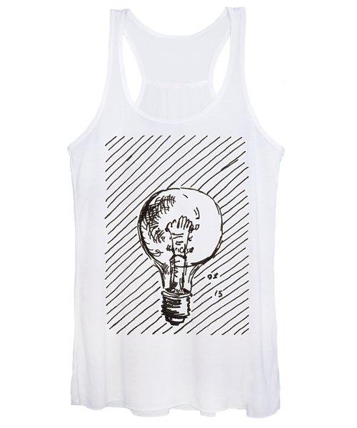 Light Bulb 1 2015 - Aceo Women's Tank Top