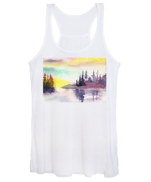 Light N River Women's Tank Top