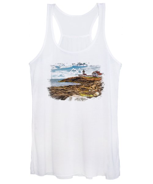 Light On The Sea Women's Tank Top