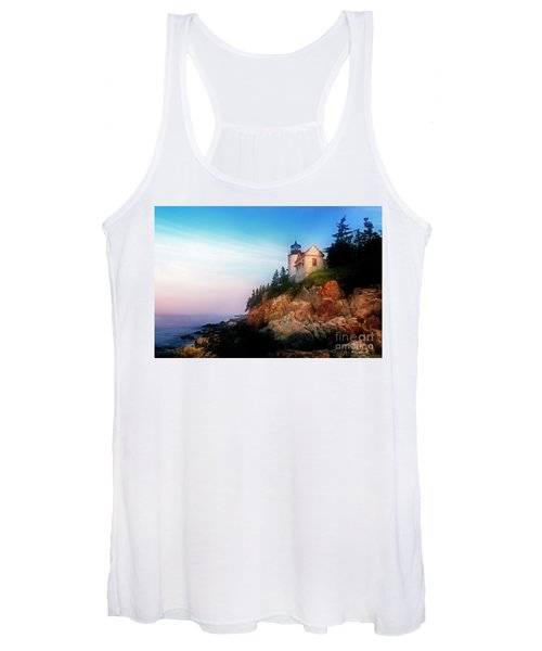Lighthouse Sunrise Women's Tank Top