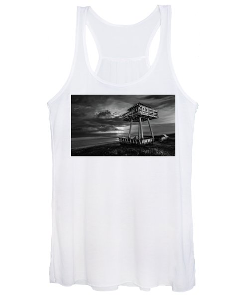Lightning Watch Tower Women's Tank Top