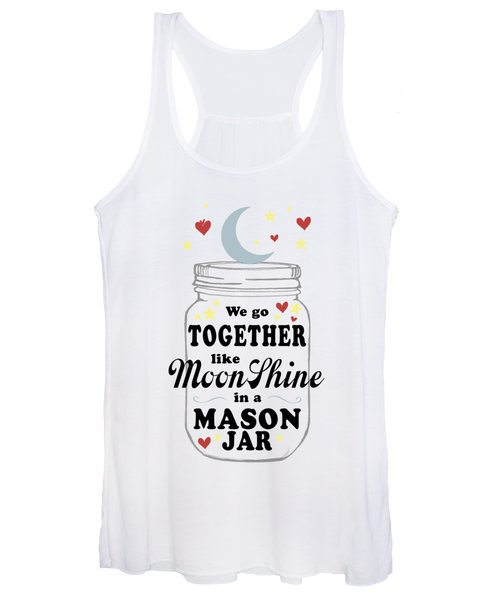 Like Moonshine In A Mason Jar Women's Tank Top