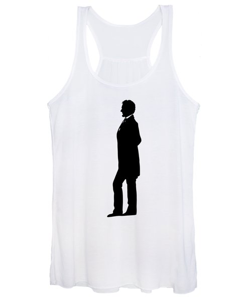Lincoln Silhouette And Signature Women's Tank Top