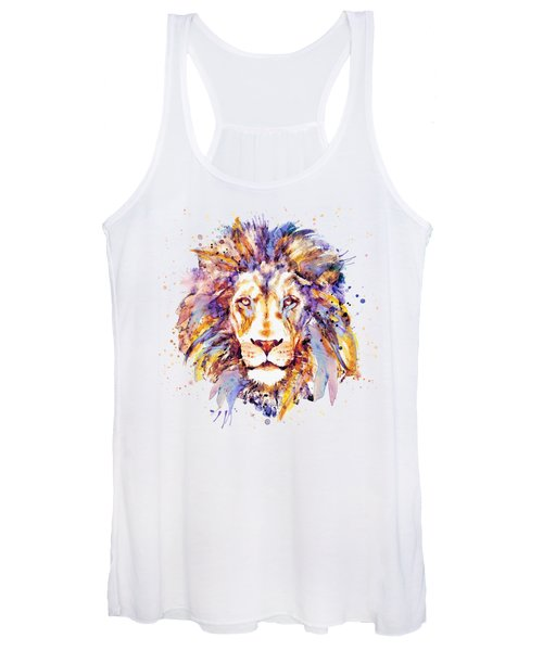 Lion Head Women's Tank Top