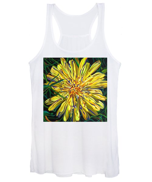 Lion In The Grass Women's Tank Top