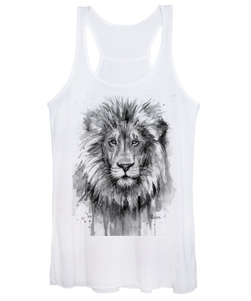 Lion Watercolor  Women's Tank Top