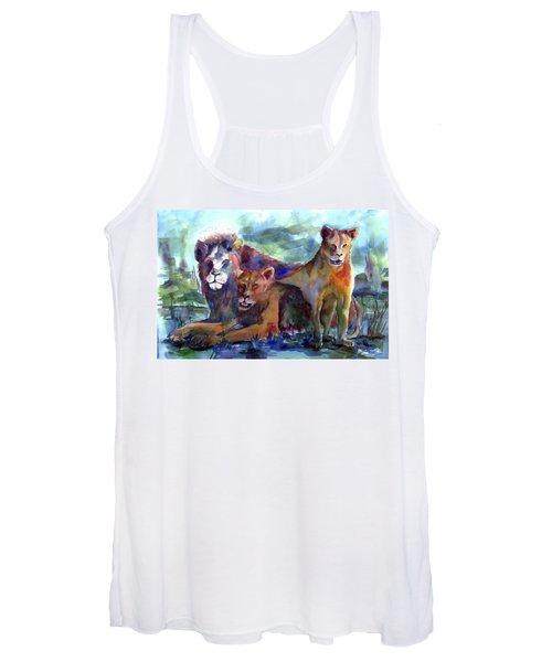 Lion's Play Women's Tank Top