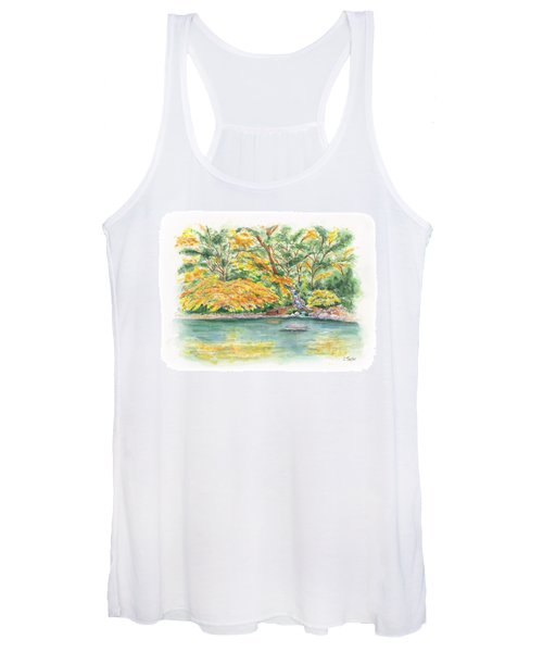 Lithia Park Reflections Women's Tank Top