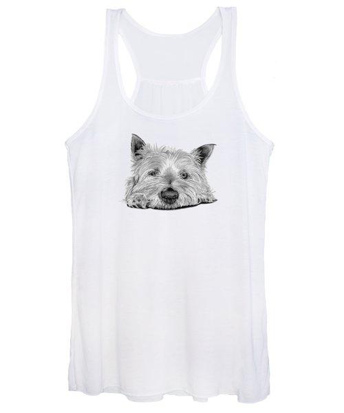 Little Dog Women's Tank Top
