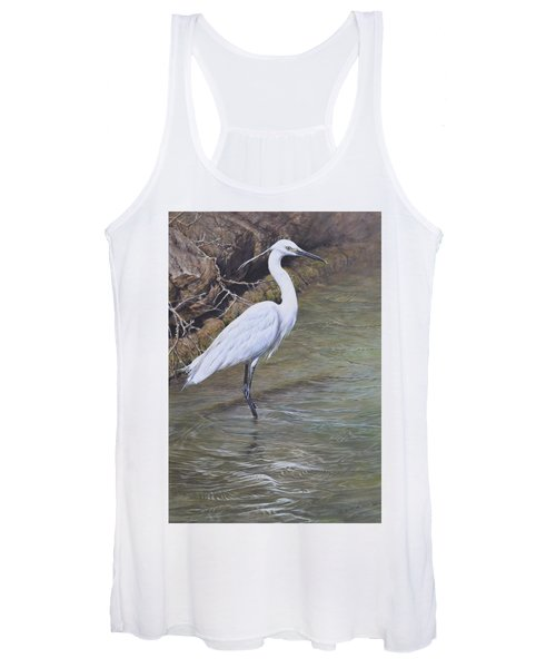 Little Egret Women's Tank Top