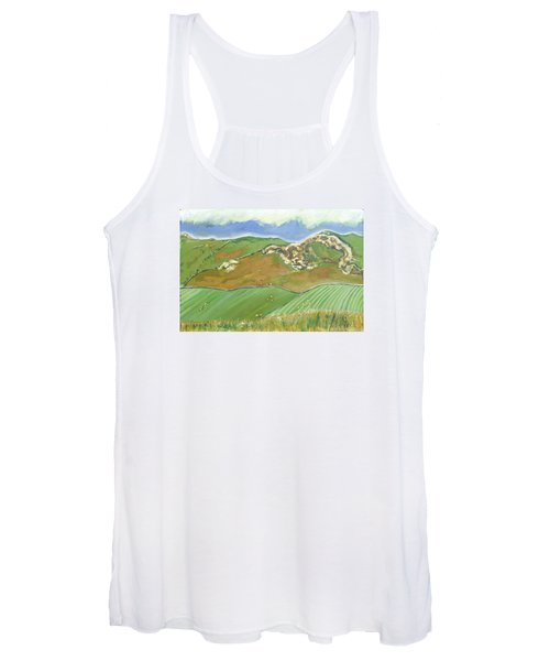 North Of The Coast Road Women's Tank Top