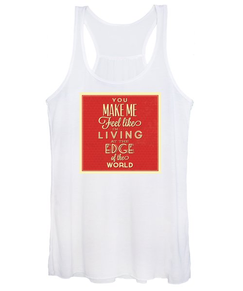 Living At The Edge Women's Tank Top