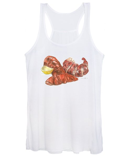 Lobster Tail And Meat Women's Tank Top