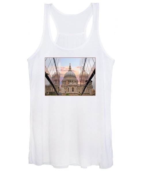 London Awakes - St. Pauls Cathedral Women's Tank Top