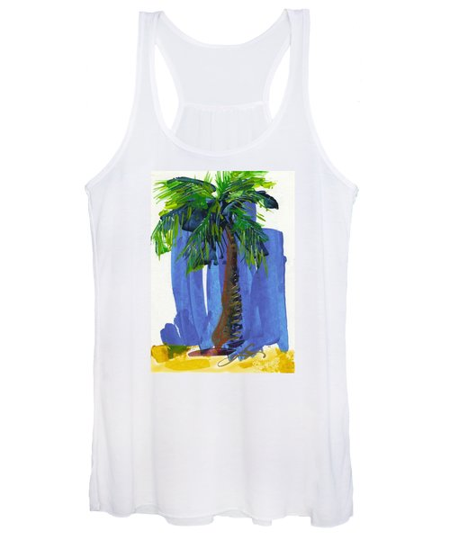 Lone Palm Women's Tank Top