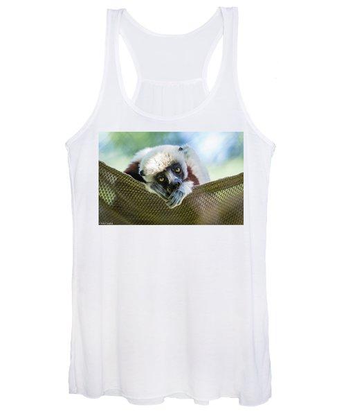 Lonely Lemur Women's Tank Top