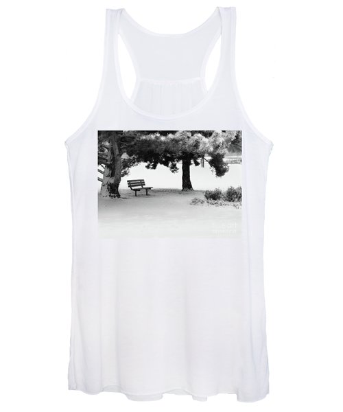 Lonely Park Bench Women's Tank Top