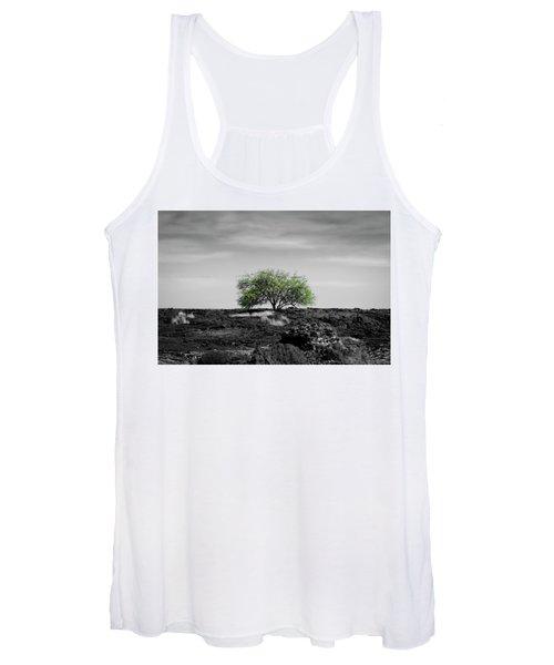 Lonely Tree Women's Tank Top
