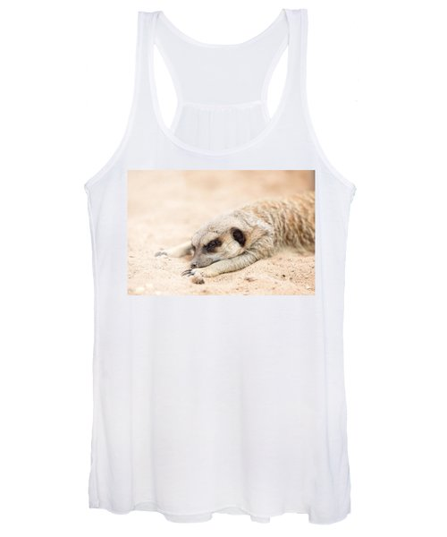 Long Day In Meerkat Village Women's Tank Top