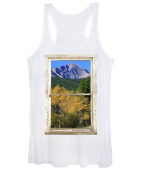 Longs Peak Window View Women's Tank Top