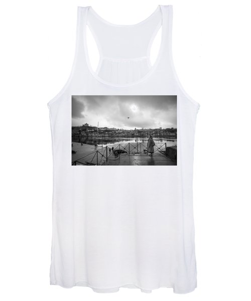 Looking And Passing By Women's Tank Top