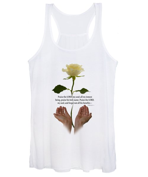 Lord, O My Soul Women's Tank Top