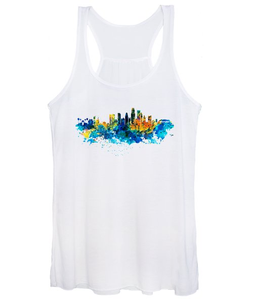 Los Angeles Skyline Women's Tank Top