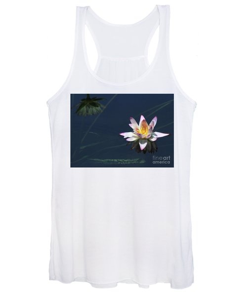 Lotus And Reflection Women's Tank Top