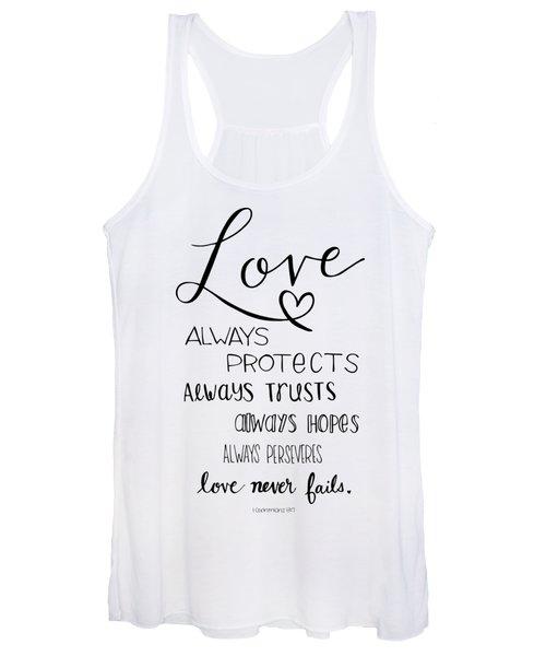 Love Always Women's Tank Top