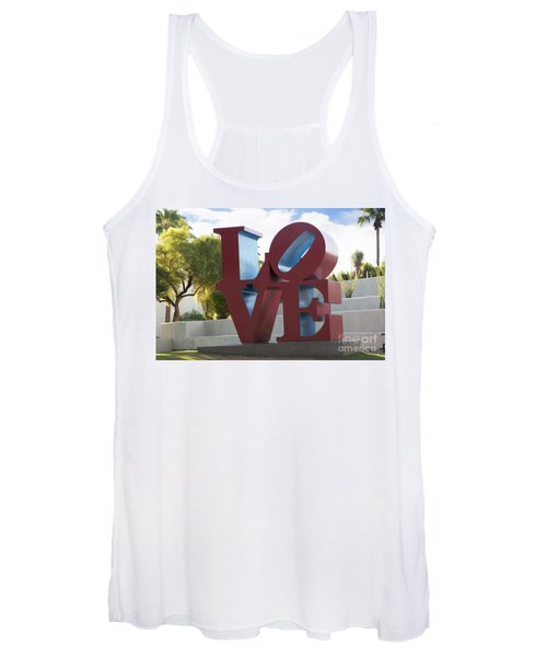 Love In The Park Women's Tank Top